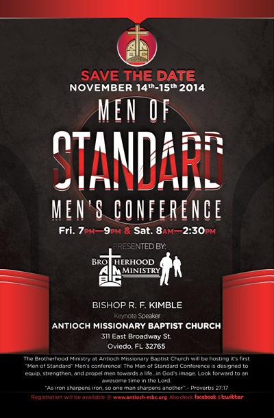 2014 Men's Conference – Men of Standard