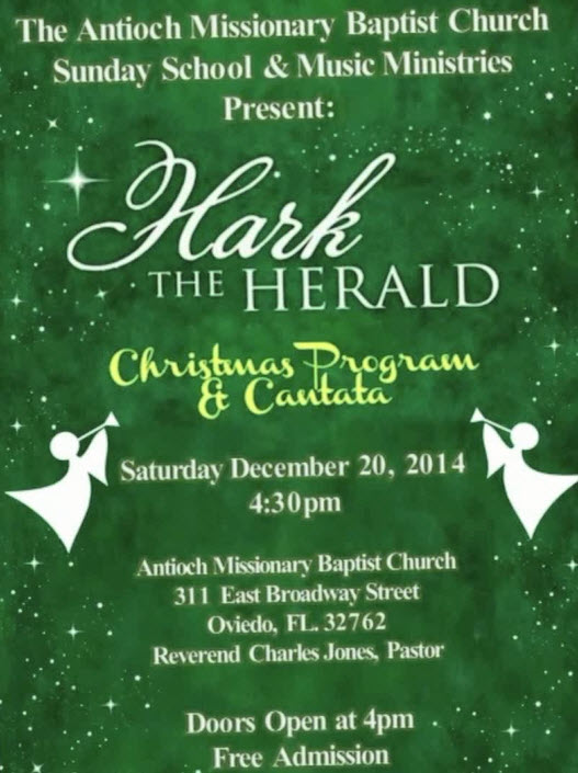 Hark the Herald – Christmas Program and Cantata
