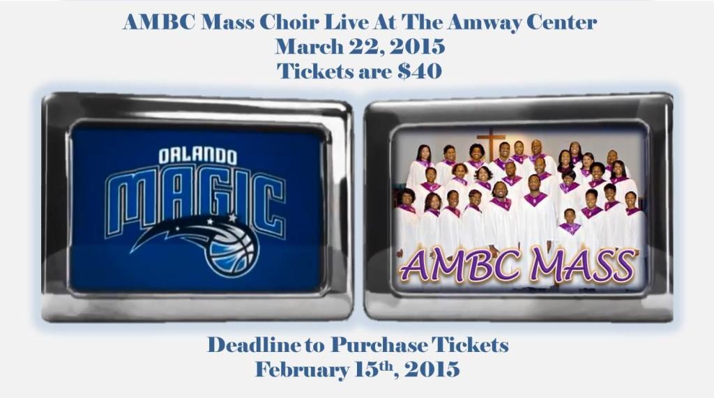 AMBC Mass Choir Live at The Amway Center