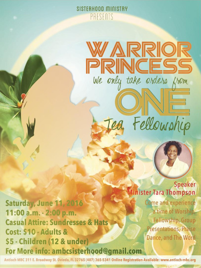 Warrior Princess Tea Fellowship